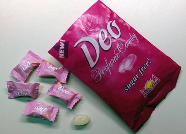 В продажу поступили конфеты-дезодорант
