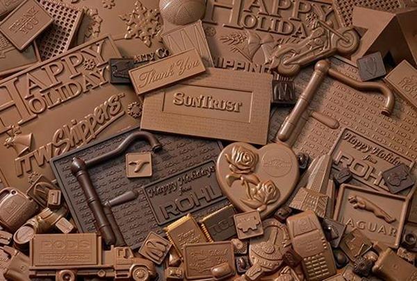 Шоколадные почтовые марки поддержат национальный образ Бельгии