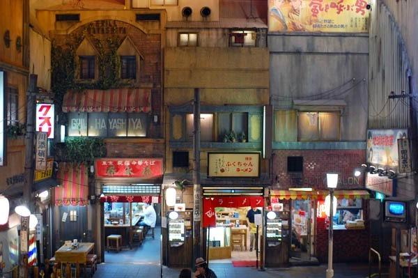 Музей лапши быстрого приготовления (рамен) в Йокогогаме, Япония