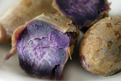 Пищевые красители заменит фиолетовый картофель