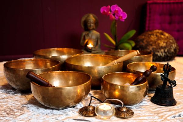 тибетский звуковой массаж