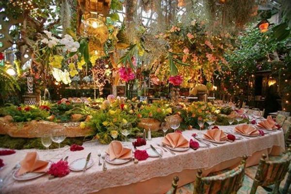 Во Франции открылся «цветочный» ресторан