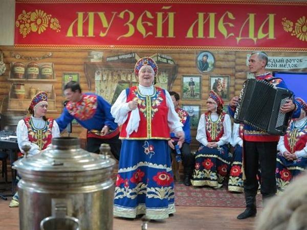 Музей меда в Красноярске (Россия)