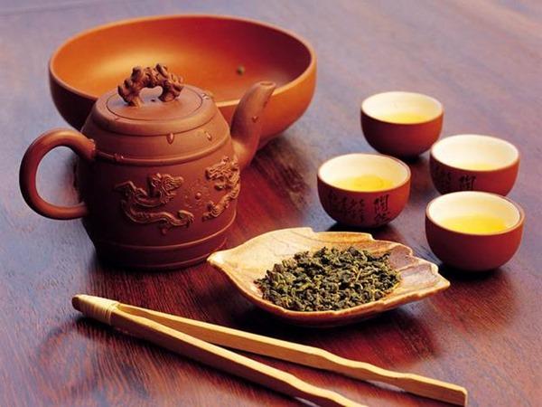 Бирюзовый чай (улун)