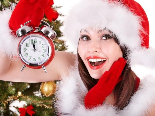 Как быстро привести себя в порядок к Новому году