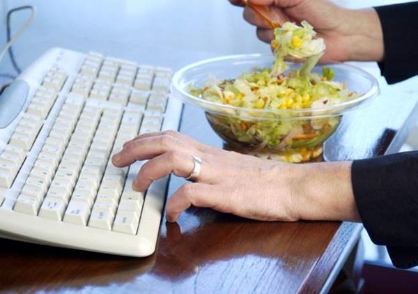 Здоровая пища повышает производительность труда
