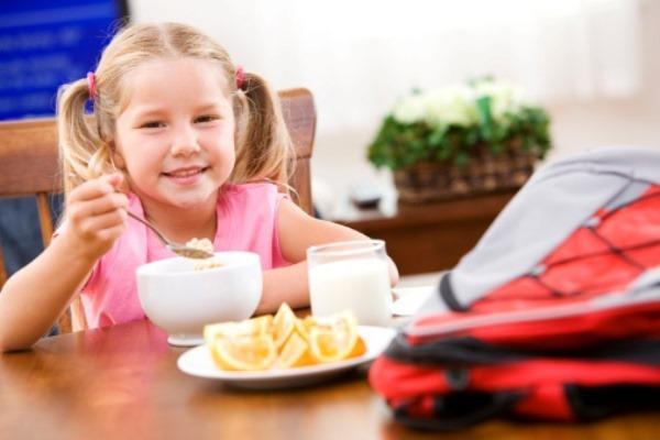 Правильное питание повысит успеваемость в школе