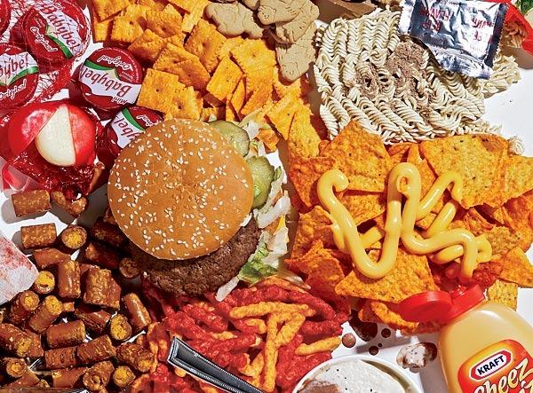 Нездоровая еда вызывает расстройства психики