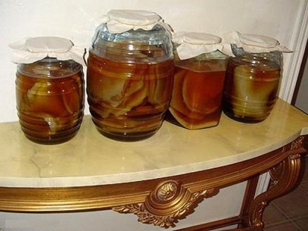 как пить чайный гриб для похудения