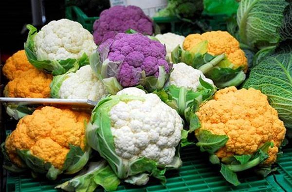 продукты необычного цвета